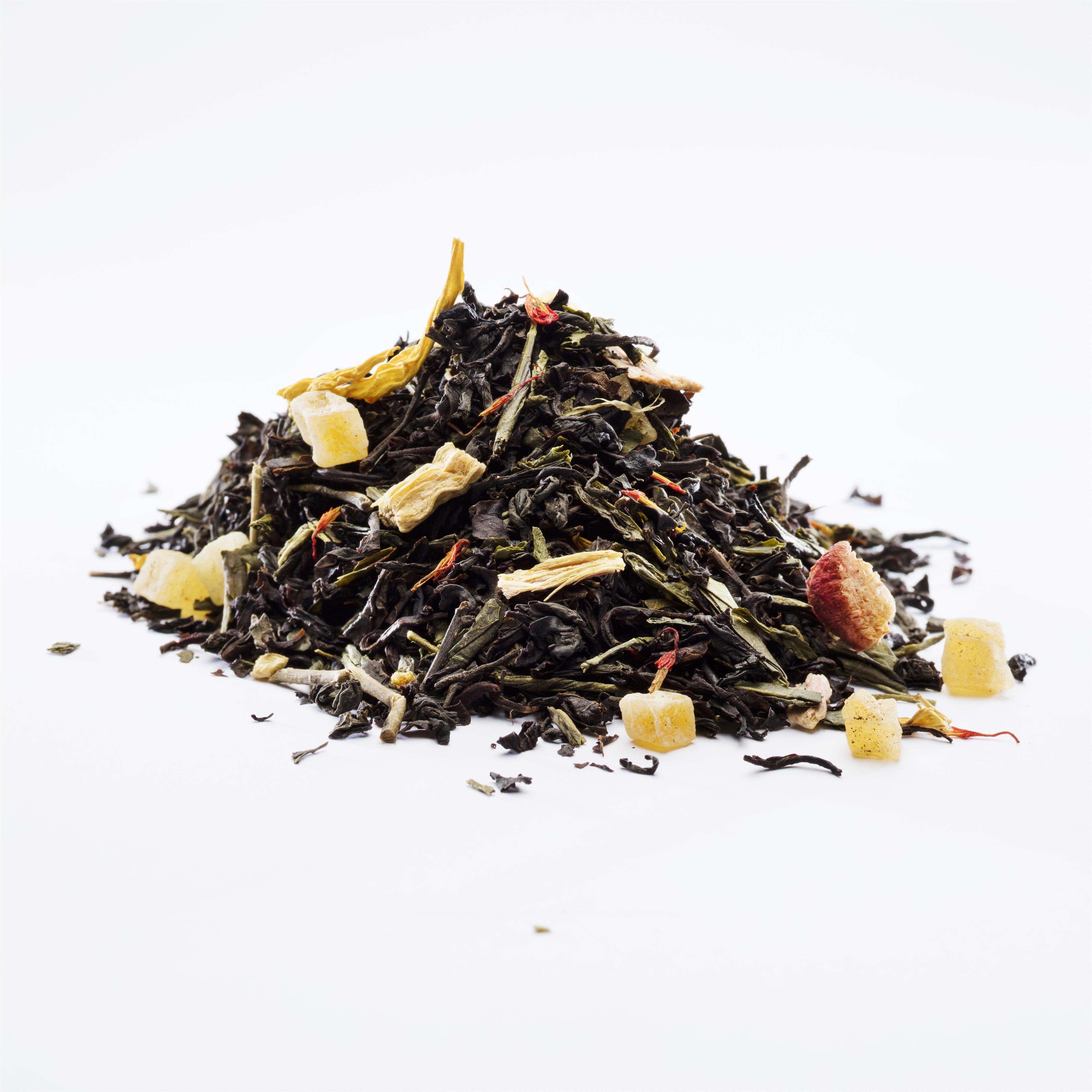 Solskins Te, økologisk