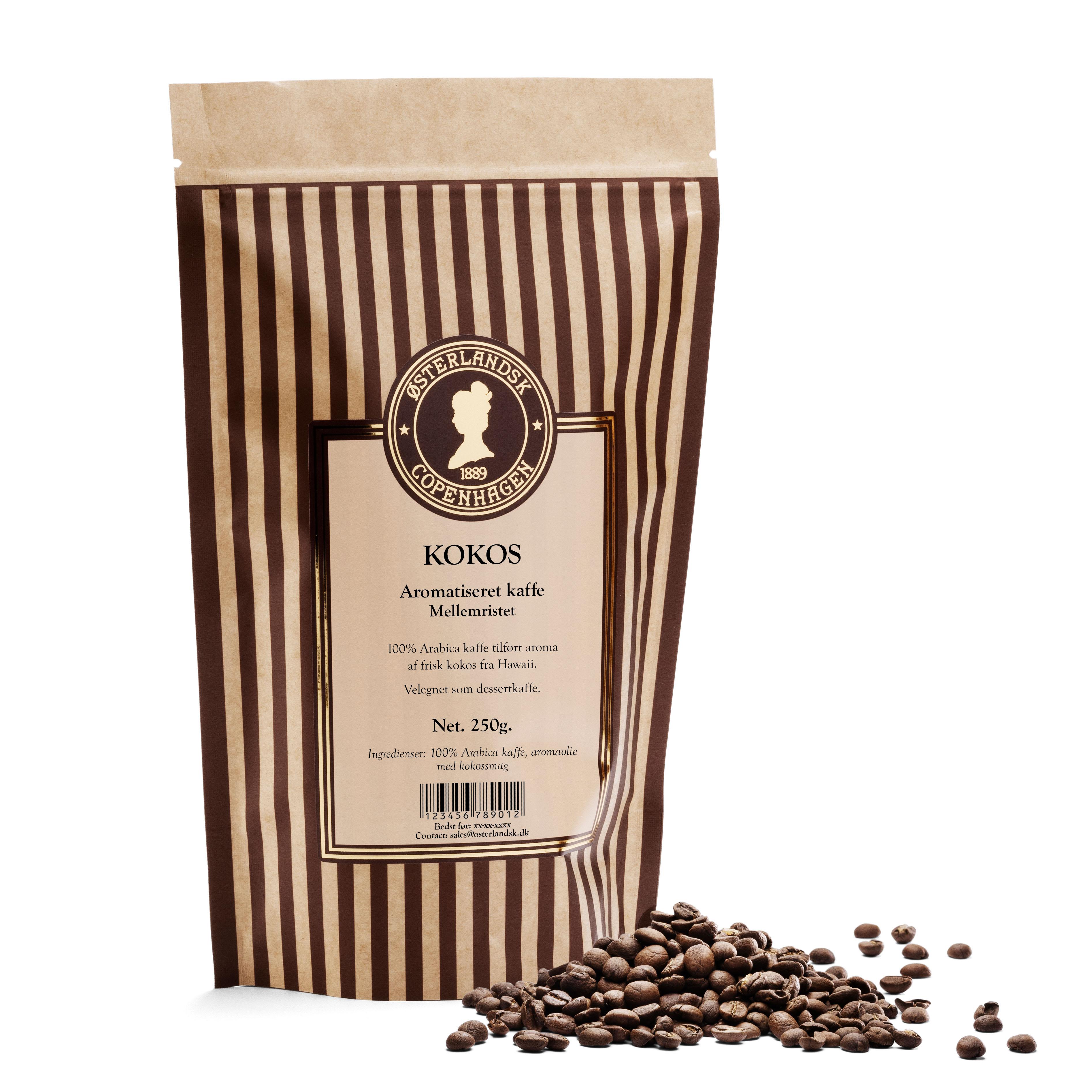 Kokos kaffe 250g