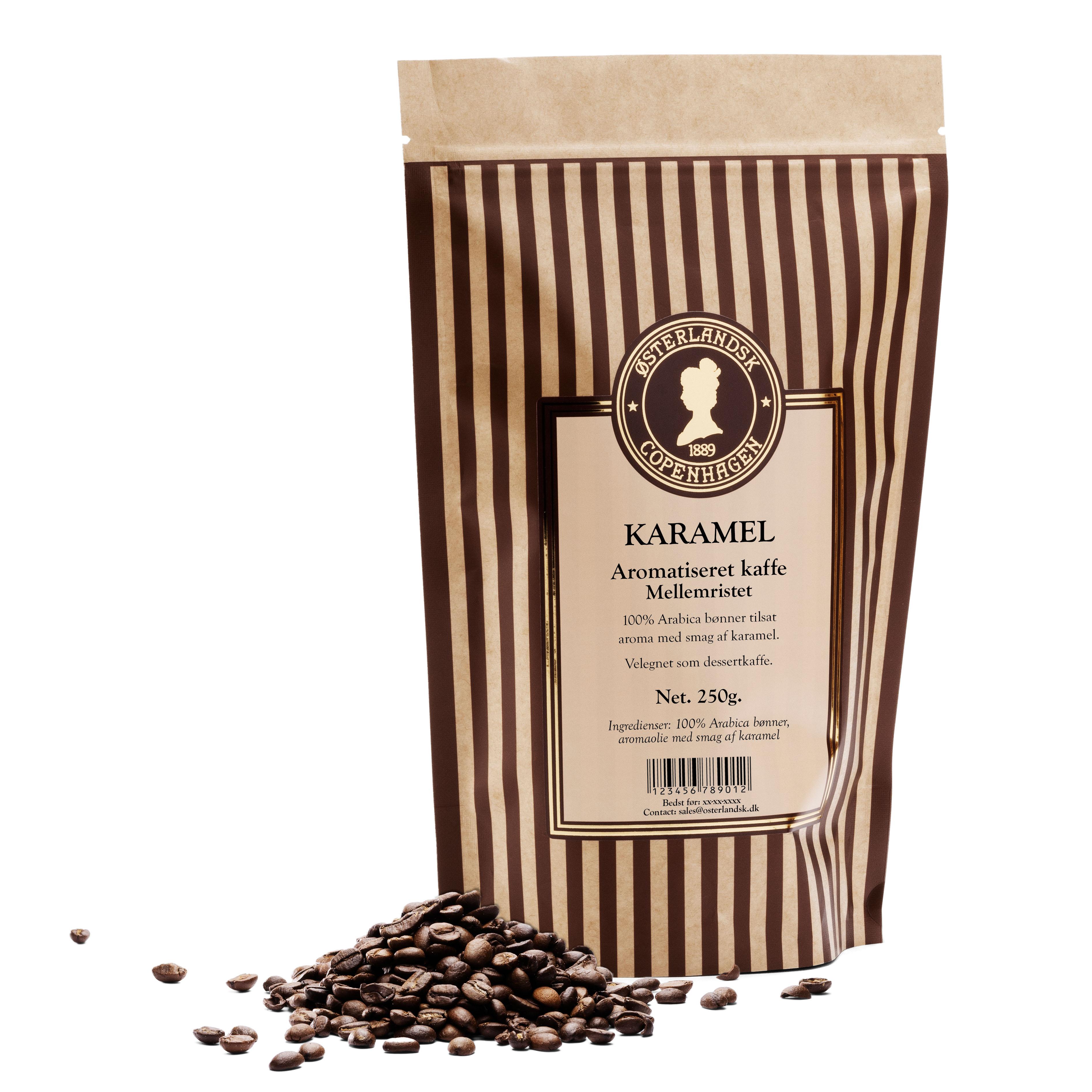 Karamel kaffe 250g