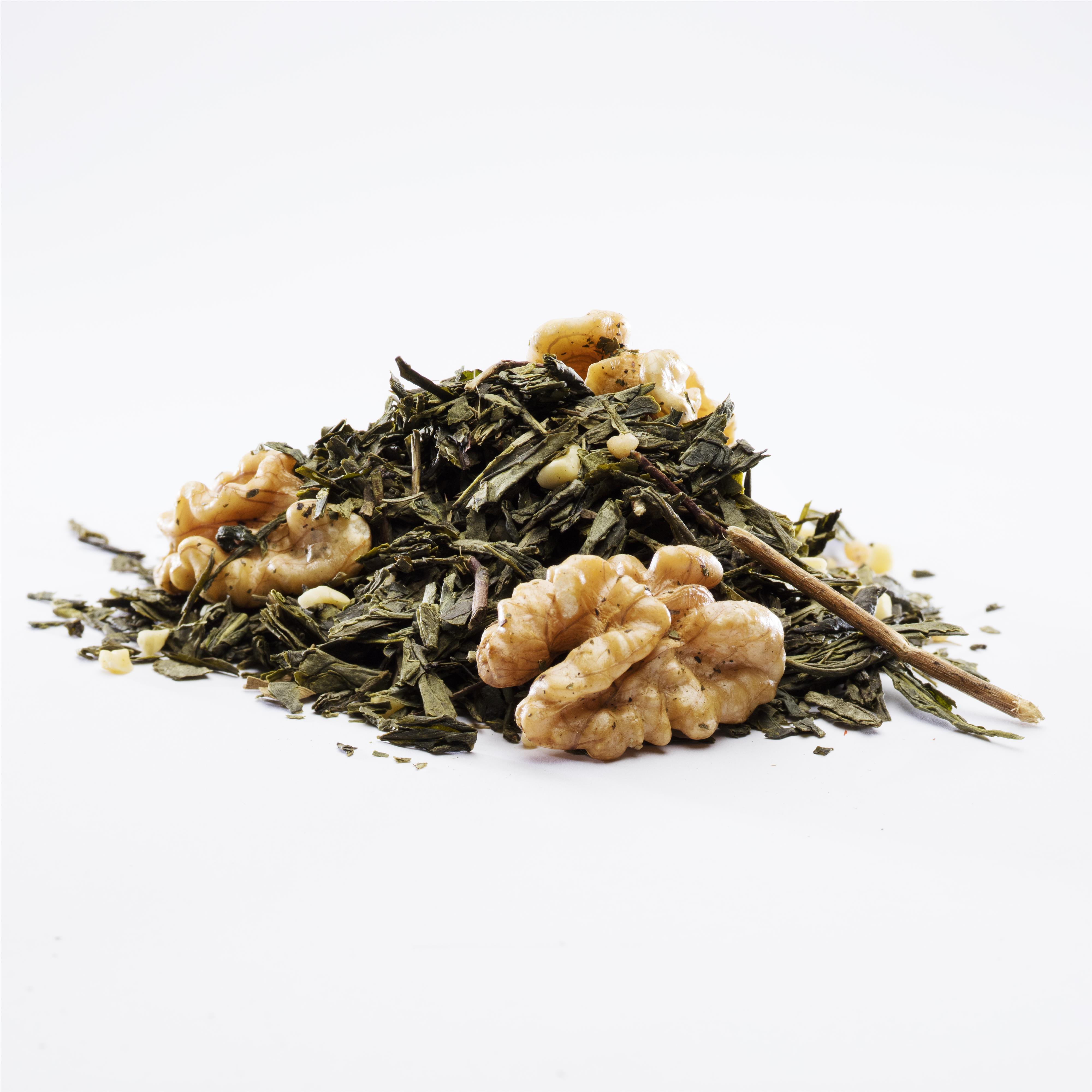 Grøn Valnød Te