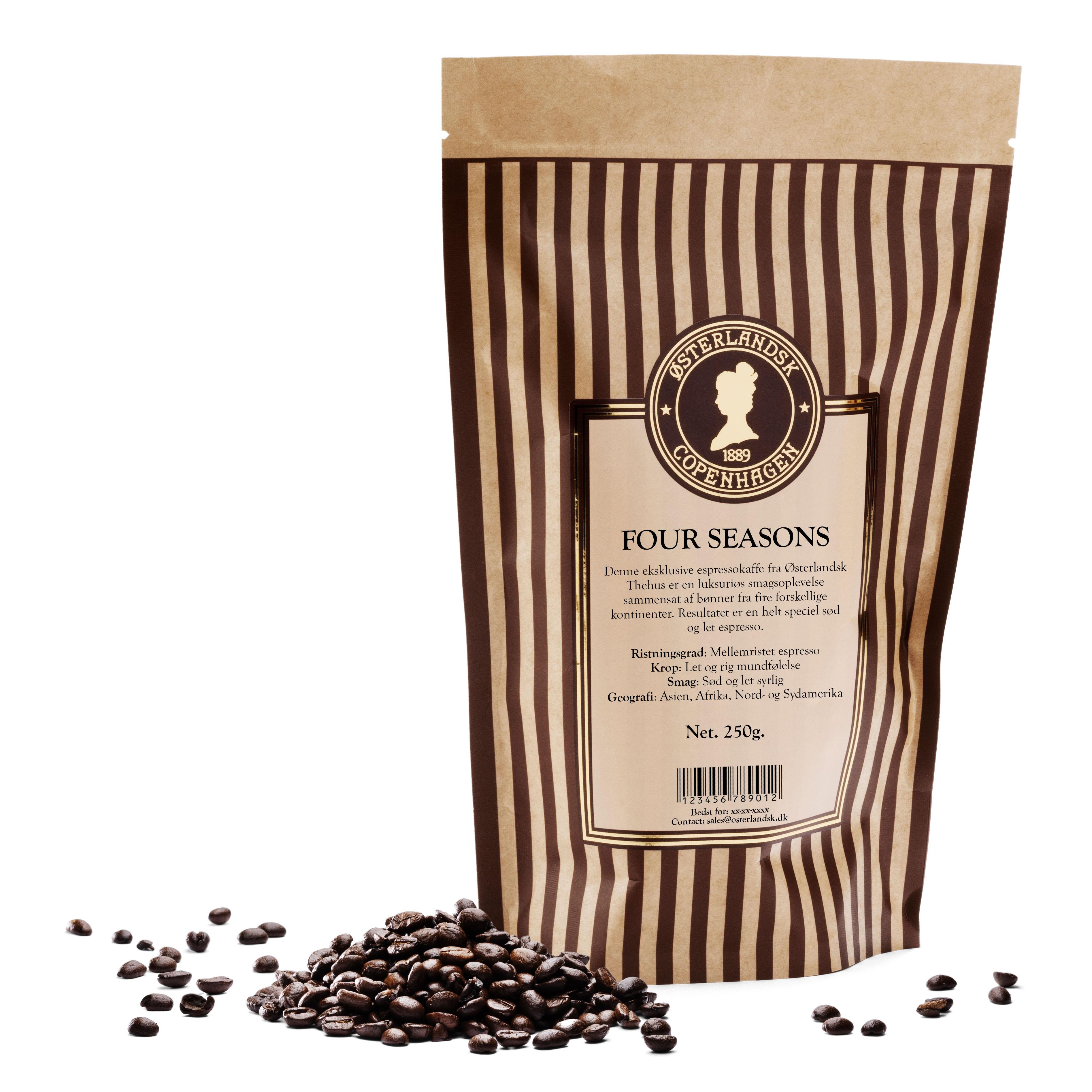 Four Seasons Espresso kaffe 250g