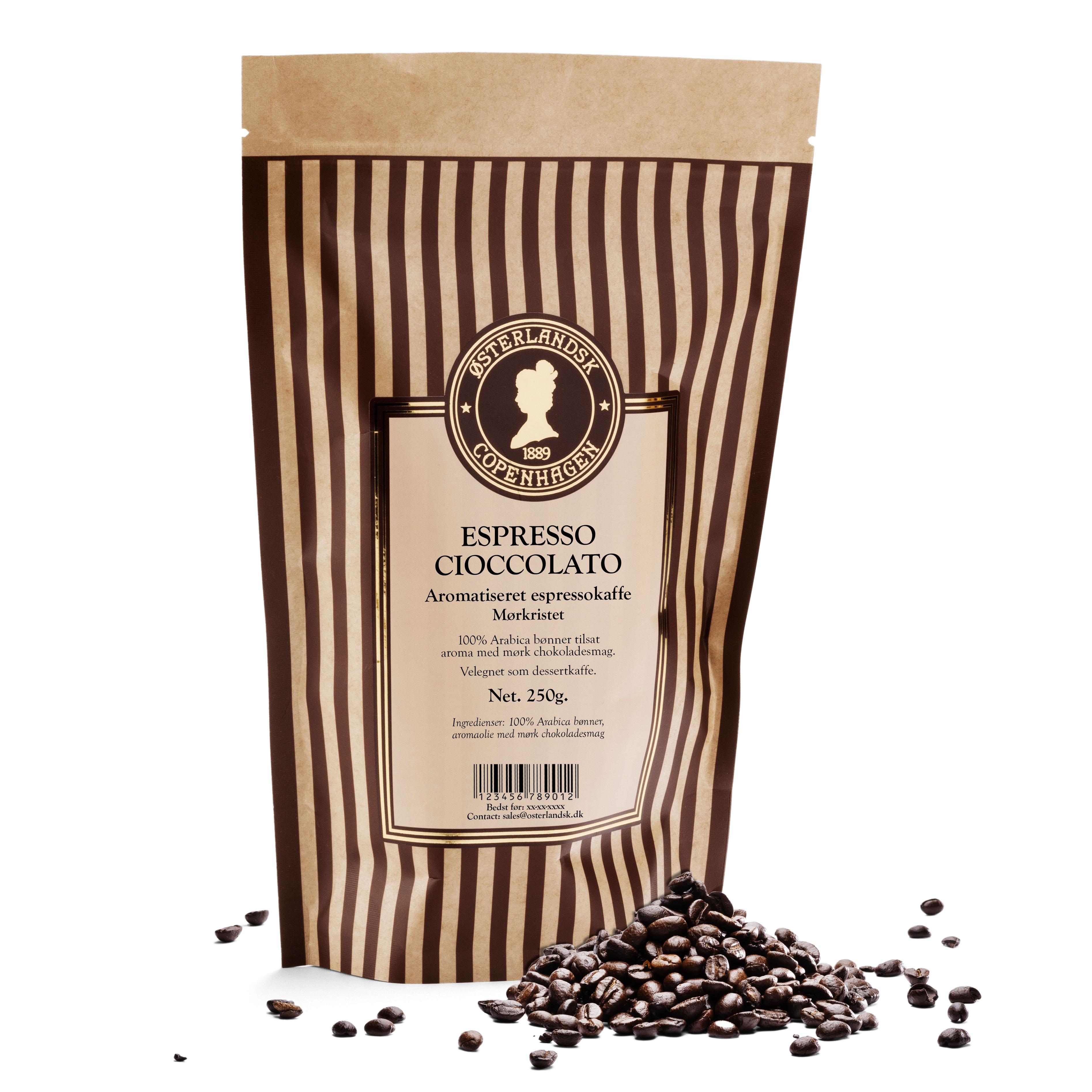 Espresso Cioccolato kaffe 250g