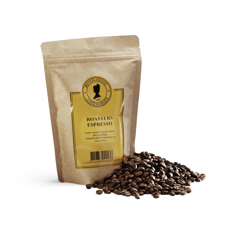 Roasters Espresso kaffe 250g