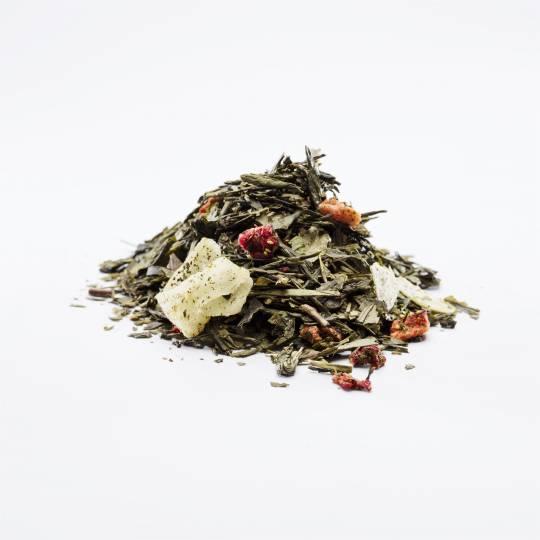 Grøn Jordbær Te