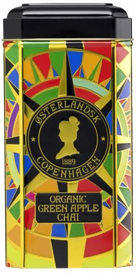 Green Apple Chai Organic - 75 stk. pyramidetebreve