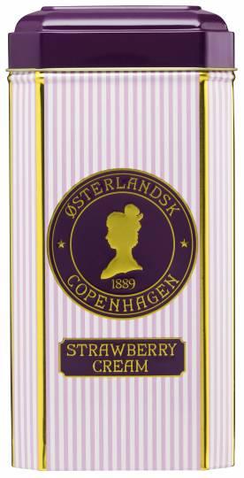 Strawberry Cream Te - 75 stk. pyramidetebreve