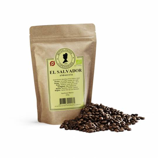 El Salvador SHG EP Finca Andalucia kaffe 250g, økologisk