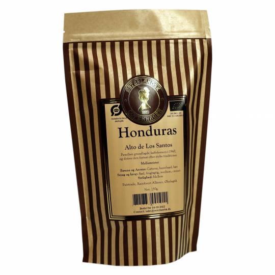 Honduras Alto Los Santos kaffe 250g, økologisk