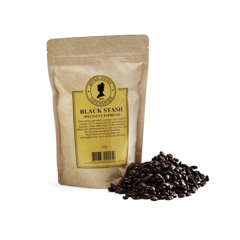 Black Stash Specialty Espresso kaffe 250g