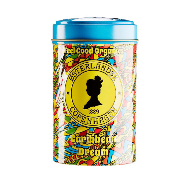 Caribbean Dream Organic Tea, 125g can