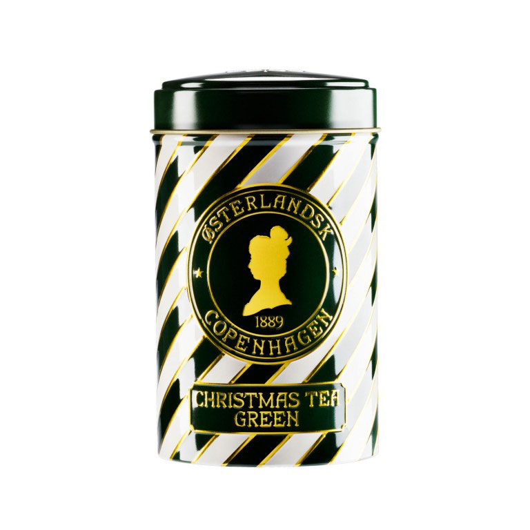 Christmas Tea Green, 125g can