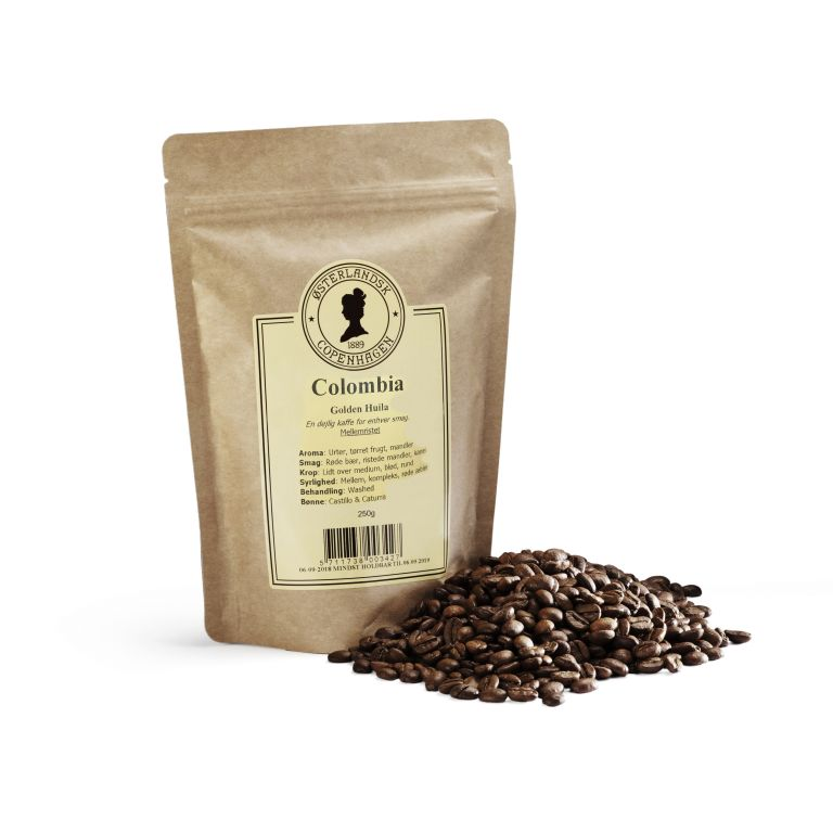 Colombia Golden Huila kaffe 250g