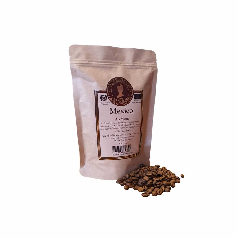 Mexico Ara Macau Kaffe 250g, Organic
