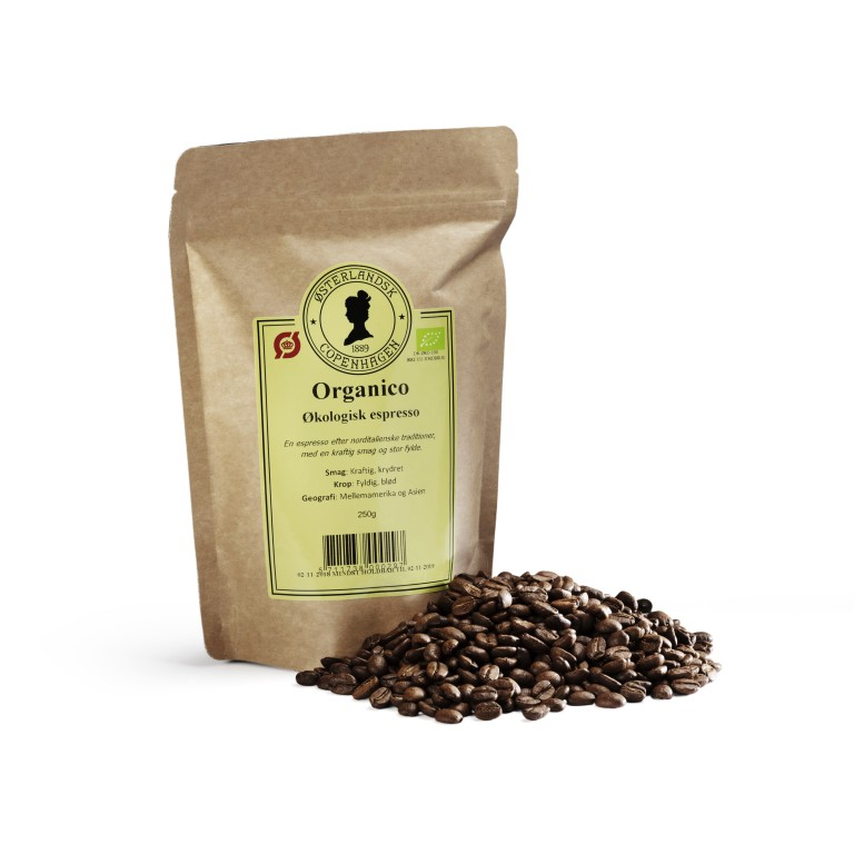 Espresso Organico kaffe 250g, økologisk