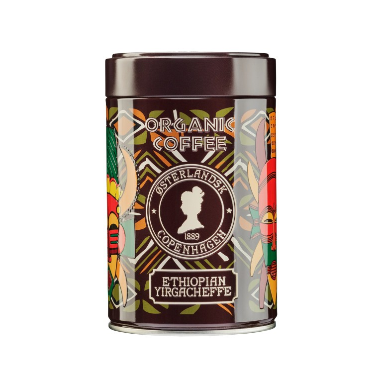 Ethiopian Yirgacheffe Organic, 250g can