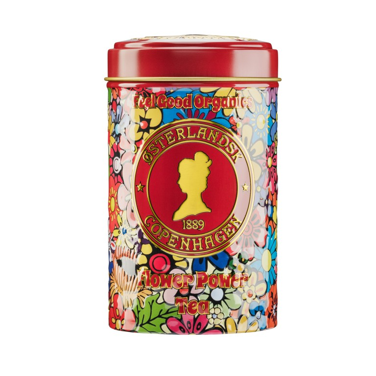 Flower Power Tea Organic, 125g can