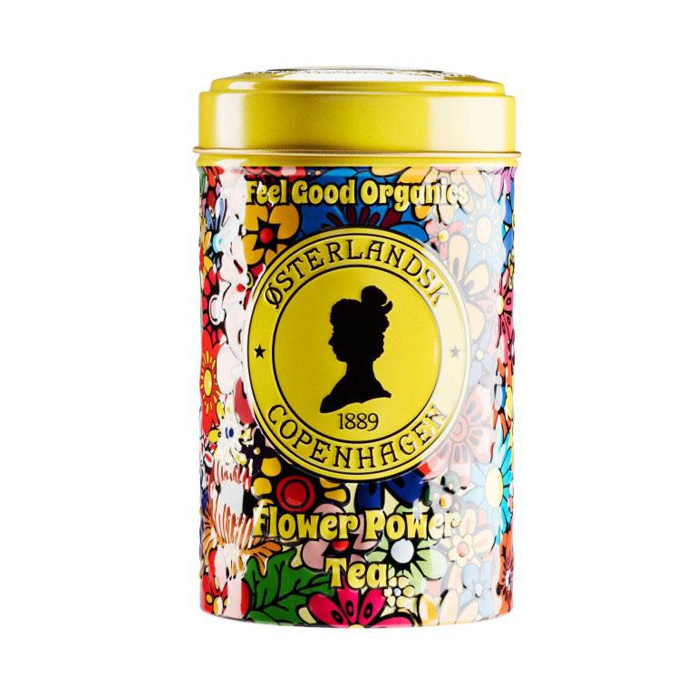 Flower Power Tea Organic, 125g can