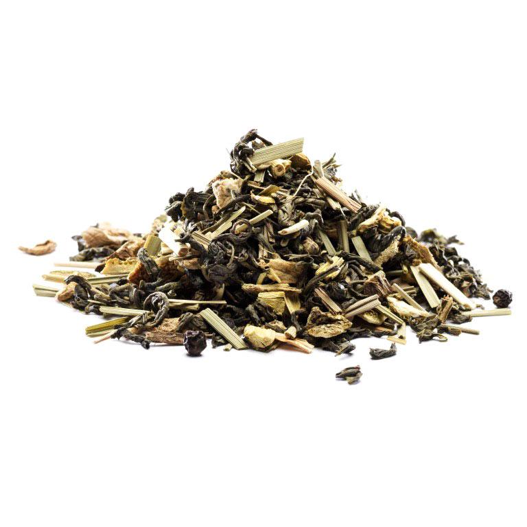 Grøn Ingefær & Lemon Te, Økologisk