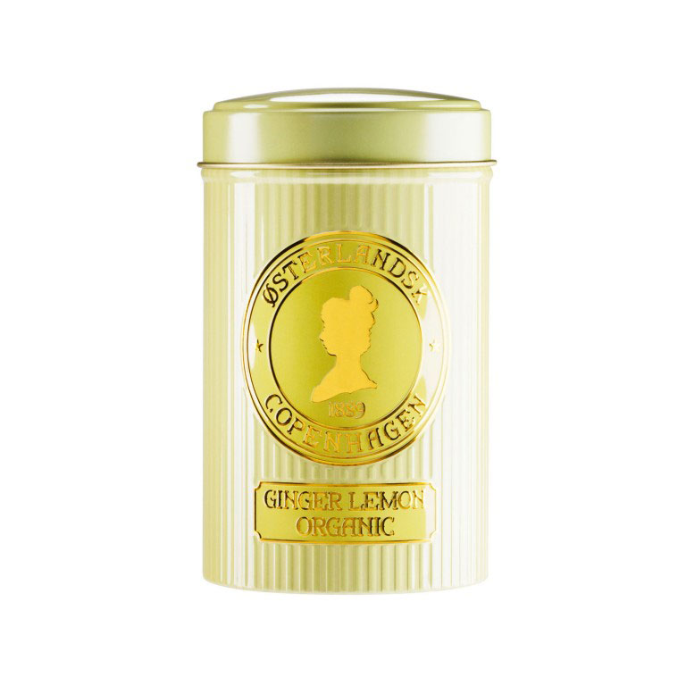 Ginger & Lemon Tea Organic, 125g can