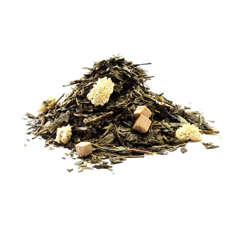 Grøn Karamel Te