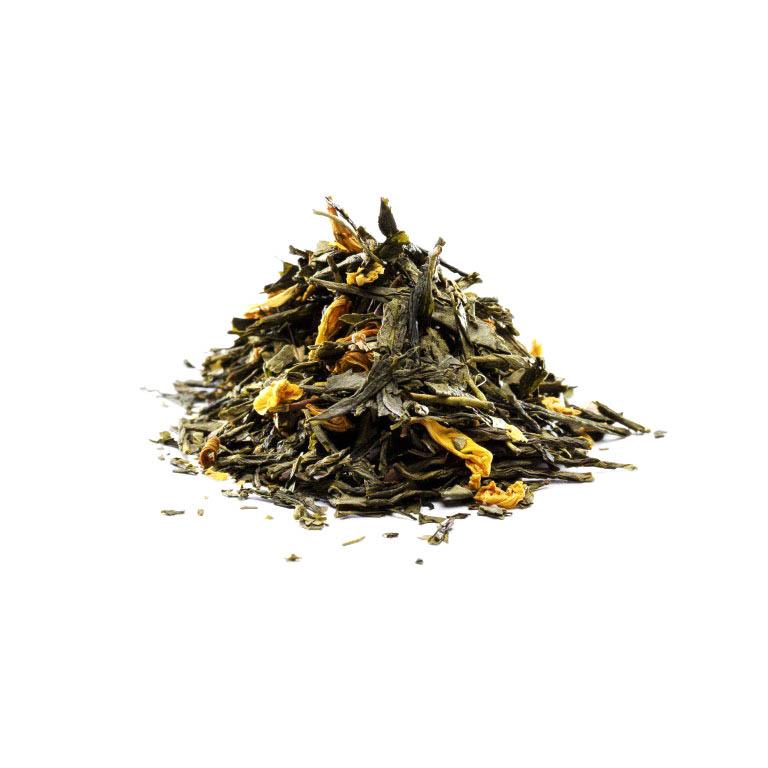 Grøn Fersken Te