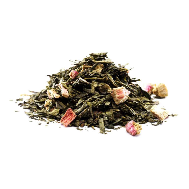 Grøn Rabarber Te