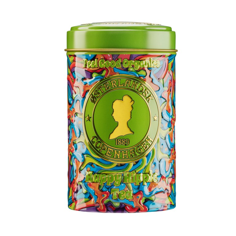Happy Hippie Tea Organic, 125g can