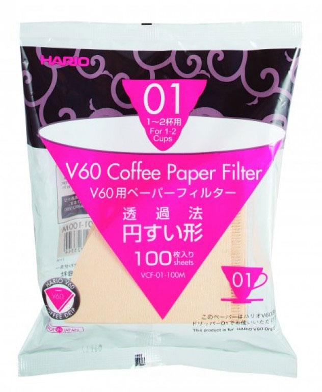 Hario Paper Filter 01 - 100 pcs.