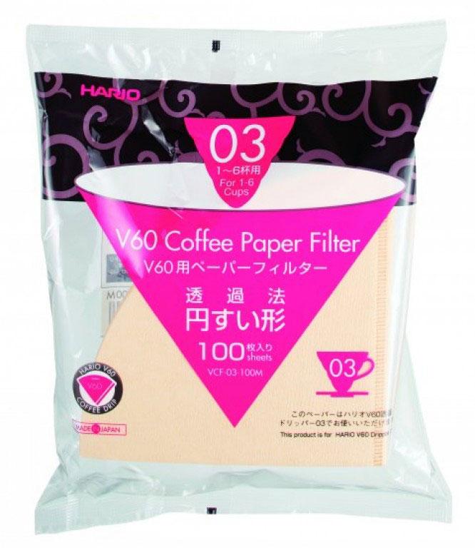 Hario Paper Filter 03 - 100 pcs.