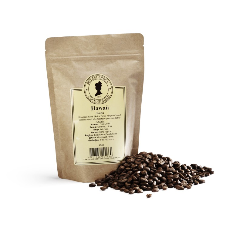 Hawaiian Kona Extra Fancy kaffe 250g