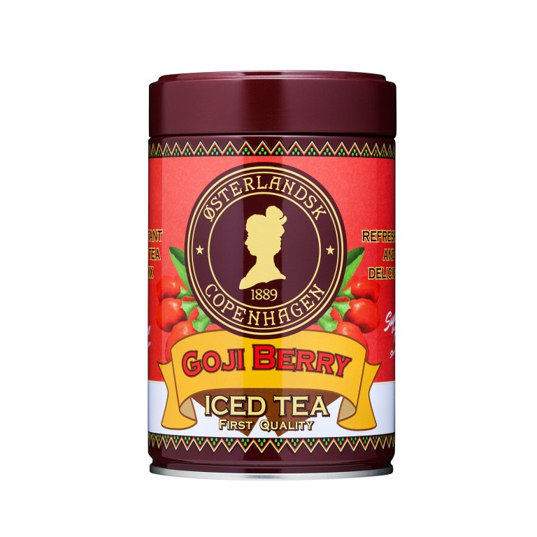 Iced Tea Goji Berry Sukkerfri 500g can