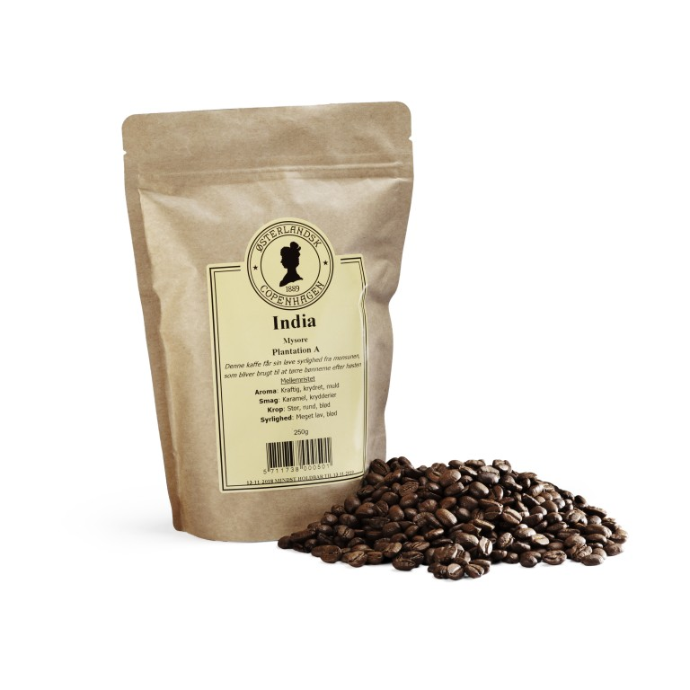 Indian Mysore kaffe, Plantation A 250g