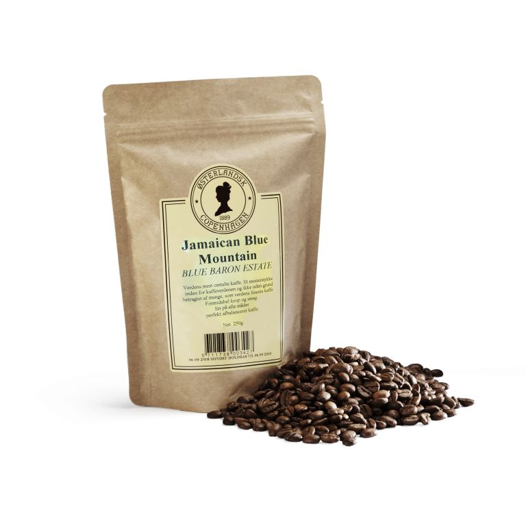 Jamaican Blue Mountain kaffe – Blue Baron Estate 250g