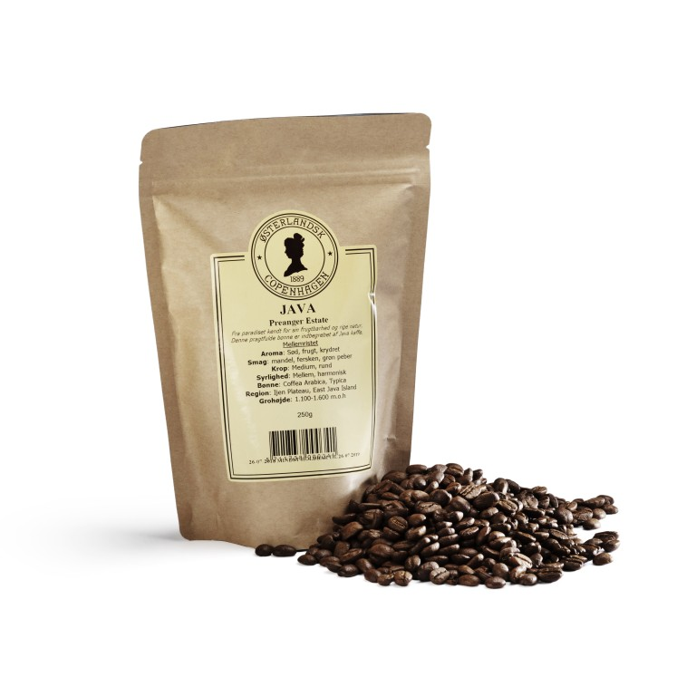 Java Purbaya Preanger Estate kaffe 250g