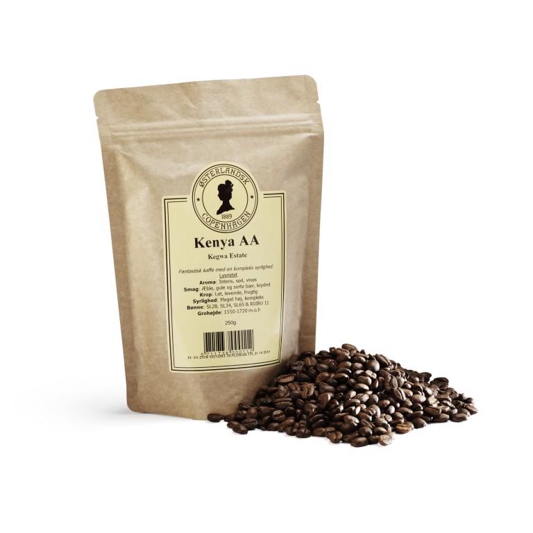 Kenya AA Matunda kaffe 250g