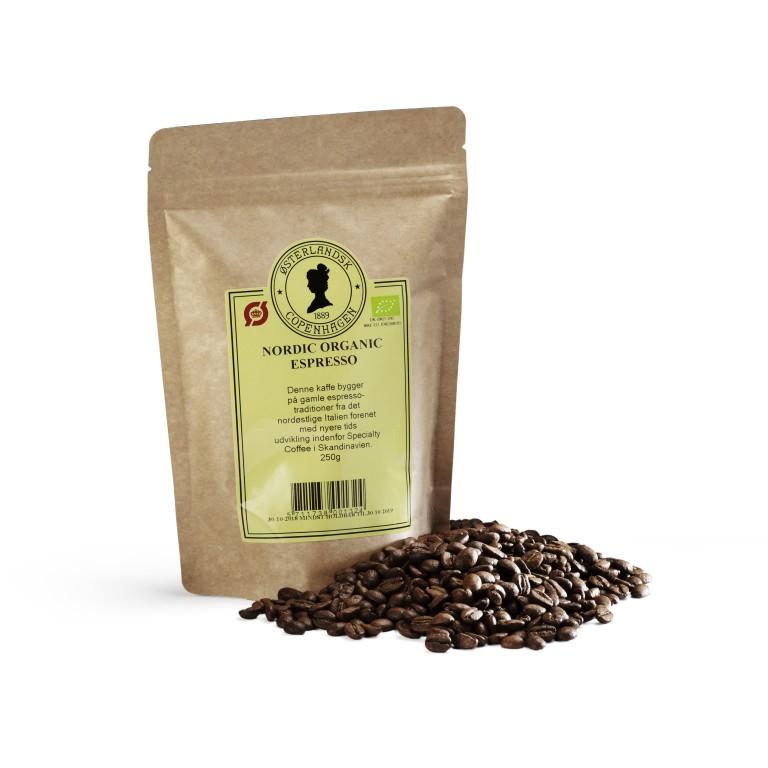 Nordic Organic Espresso kaffe 250g