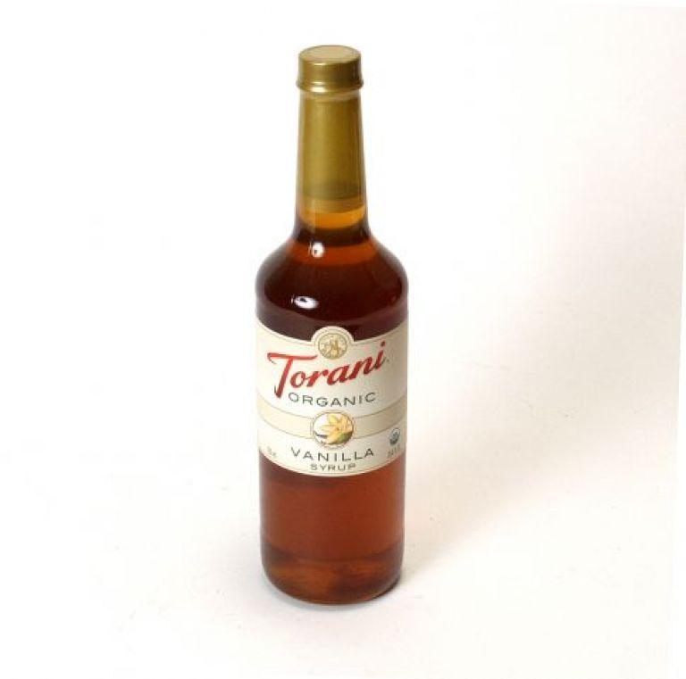 Torani Vanille Sirup, 750 ml økologisk
